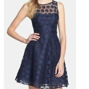 Betsey Johnson Navy Blue Dress